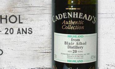 Blair Athol - 1976/1996 - 20yo - 47,2% - Cadenhead - Authentic Collection
