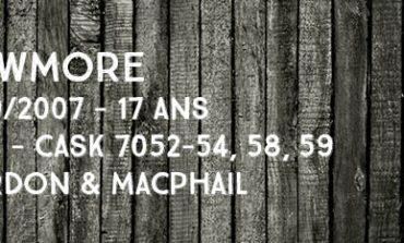Bowmore - 1989/2007 - 17yo - 45% - Cask 7052-54,58+59 -  Gordon & Macphail - Secret Stills 4.4