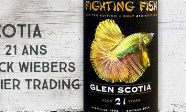 Glen Scotia - 1992/2014 - 21yo - 50,9% - Jack Wiebers - for Monnier Trading - Fighting Fish
