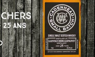 Glentauchers - 1989/2015 - 25yo - 53,3% - Cadenhead - Small Batch