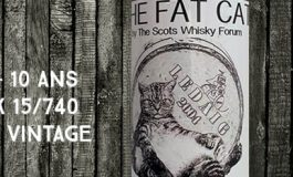 """Ledaig - 2004/2015 - 10yo - Cask 15/740 - 58% - Signatory Vintage - for The Cutty Sark Scots Whisky Forum - """"The Fat Cat """""""