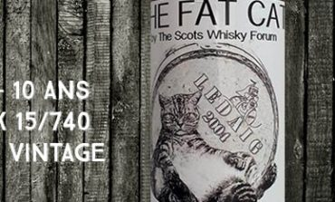 "Ledaig - 2004/2015 - 10yo - Cask 15/740 - 58% - Signatory Vintage - for The Cutty Sark Scots Whisky Forum - ""The Fat Cat """