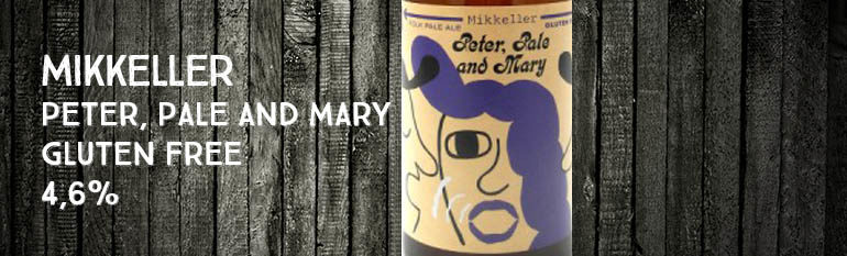 Mikkeller – Peter Pale and Mary –  Gluten Free – 4,6% – American Pale Ale