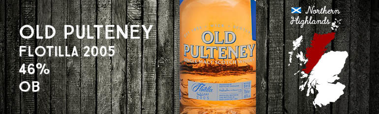 Old Pulteney – Flotilla 2005 – 46% – OB