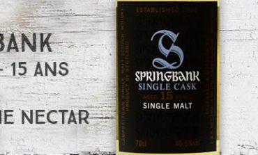 Springbank - 2000/2015 - 15yo - 46,5% - OB - for The Nectar