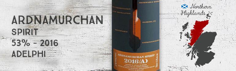 Ardnamurchan – Spirit – 53% – Adelphi – 2016