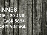 Benrinnes - 1995/2016 - 20yo - 49,6% - Cask 5894 - Signatory Vintage - Cask Strength Collection
