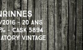 Benrinnes - 1995/2016 - 20yo - 49,6% - Cask 5894 - Signatory Vintage - Cask Strength Collection