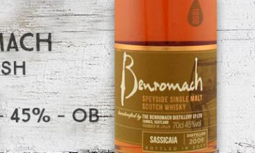 Benromach - Wood Finish - Sassicaia - 2009/2017 - 45% - OB
