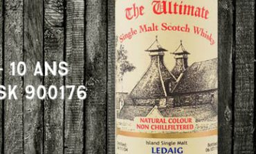 Ledaig - 2004/2015 - 10yo - 61,9% - Cask 900176 - Van Wees - The Ultimate - Cask Strength