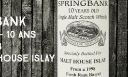 Springbank - 1998/2008 - 10yo - 59,7% - OB - for Malt House Islay
