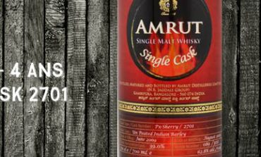 Amrut - 2009/2013 - 4yo - 62,8% - Cask 2701 - OB