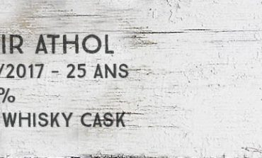 Blair Athol - 1991/2017 - 25 ans - 52,5% - The Whisky Cask