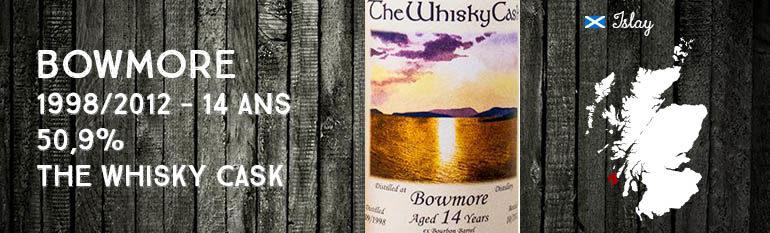 Bowmore – 1998/2012 – 14yo – 50,9% – The Whisky Cask
