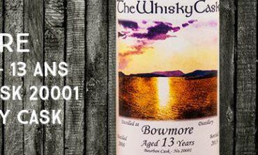 Bowmore - 2000/2013 - 13yo - 59,9% - Cask 20001 - The Whisky Cask