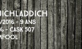 Bruichladdich - 2006/2016 - 9yo - 58,2% - Cask 507 - Dramfool