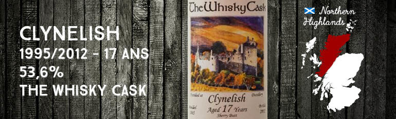 Clynelish – 1995/2012 – 17yo – 53,6% – The Whisky Cask