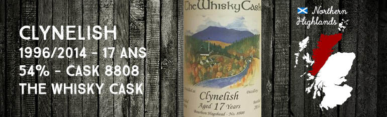 Clynelish – 1996/2014 – 17yo – 54% – Cask 8808 – The Whisky Cask