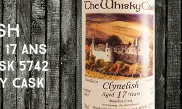 Clynelish - 1997/2014 - 17yo - 52,5% - Cask 5742 - The Whisky Cask