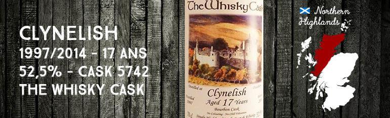 Clynelish – 1997/2014 – 17yo – 52,5% – Cask 5742 – The Whisky Cask