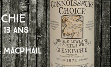 Glenkinchie - 1974/1987 - 13yo - 40% - Gordon & Macphail - Old Map Label