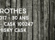 Glenrothes - 1986/2017 - 30 ans - 53,9% - Cask 100247 - The Whisky Cask