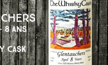 Glentauchers - 2008/2017 - 8 ans - 58,4% - The Whisky Cask