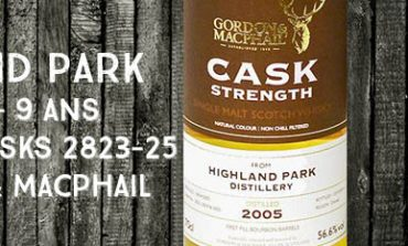 Highland Park - 2005/2014 - 9 ans - 56,6% - Casks 2823-25 - Gordon & MacPhail - Cask Strength Collection