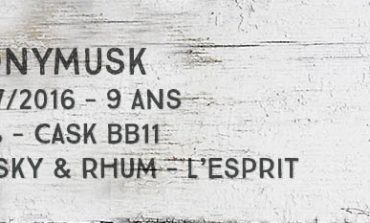 Monymusk - 2007/2016 - 9yo - 67% - Cask BB11 - Whisky & Rhum - L'esprit - Jamaïque