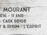 Port Mourant - 2005/2016 - 11yo - 60,1% - Cask BB108 - Whisky & Rhum - L'esprit - Guyana