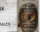 Springbank – 1972 – 30yo – 58% – Scotch Malt Sales – Bar Campbelltoun Loch