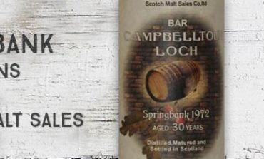 Springbank - 1972 - 30yo - 58% - Scotch Malt Sales - Bar Campbelltoun Loch