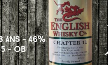 The English Whisky Company - Chapter 11 - 2011/2014 - 3yo - 46% - OB