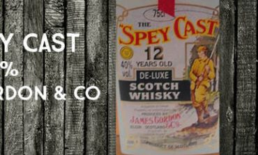 The Spey Cast - 12 ans - 40% - James Gordon & Co - Gordon & MacPhail - 1980's