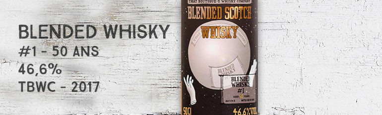 Blended Whisky – #1 – 50yo – 46,6% – That Boutique-Y Whisky Company – 2017