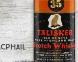 Talisker – 1947 – 35yo – 40% – Gordon & MacPhail – Black Label