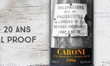 Caroni - 1996/2016 - 20yo - 70,1% - Full Proof - Heavy Trinidad Rum - Velier - Trinidad & Tobago