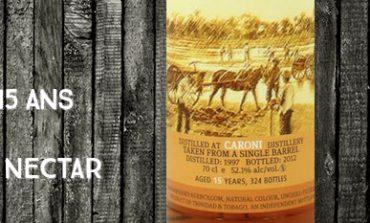 Caroni - 1997/2012 - 15yo - 52,1% - The Whisky Agency & The Nectar - Trinidad & Tobago