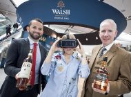 The Walsh Whiskey Distillery : Dégustation, marketing et réalité virtuelle