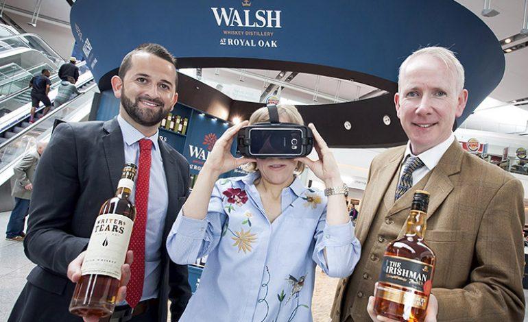 The Walsh Whiskey Distillery : Dégustation, marketing et réalité virtuelle