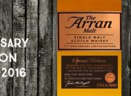 Arran - 21st Anniversary - Limited Edition - 52,6% - OB - 2016