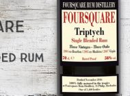 Foursquare - Triptych - Single Blended Rum - 56% - Velier - Barbade