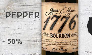 James E. Pepper - 1776 - Bourbon - 100 proof - 50%