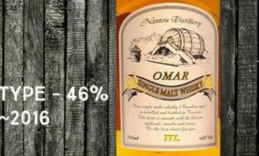 Nantou - Omar - Bourbon Type - TTL - 46% - OB - ~2016