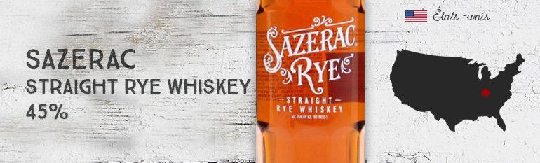 Sazerac – Straight Rye Whiskey – 45% – OB