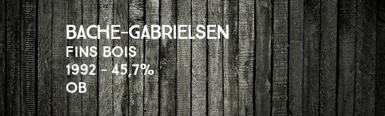 Bache-Gabrielsen – Fins Bois – 1992 – 45,7%