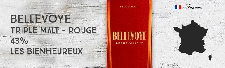 Bellevoye – Triple Malt – Rouge – 43% – Les Bienheureux