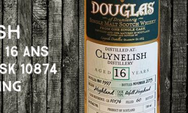 Clynelish - 1997/2013 - 16yo - 56,2% - Cask 10874 - Hunter Laing - Douglas of Drumlanrig