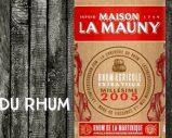 La Mauny – 2005 – 49,7% – OB – for La conférie du Rhum – Martinique