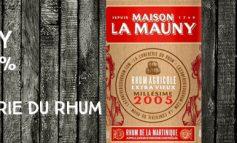 La Mauny - 2005 - 49,7% - OB - for La conférie du Rhum - Martinique